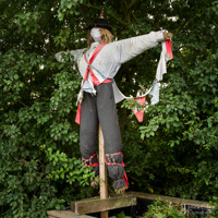 Edingley Open Allotments: Scarecrow Competition - 2013